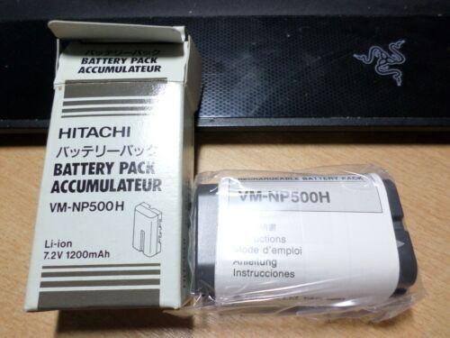 original+sealed++Battery+for+HITACHI+VM+Series+vm-np500h+li-ion+7.2v+1200mah
