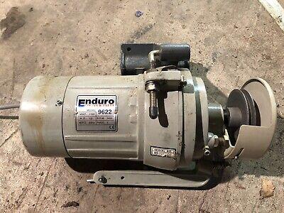 Enduro 9622 Clutch Sewing Machine Motor 115 Volt Rpm 3450