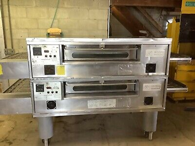 Middleby Marshall Ps570 Pizza Oven Conveyor Nat Gas 208-240 V 1phase Tested