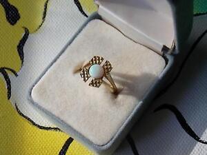 585 Gold Vintage Opal Ring Armidale Armidale City Preview