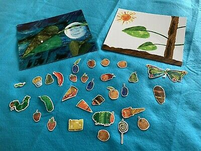 THE VERY HUNGRY CATERPILLAR BY ERIC CARLE COLORFORMS PLAY SET