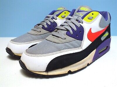 Nike Air Max 90 I AM THE RULES  Men's Basketball Wolfgray/SRed-Wht-Blk Sz 9.5 US (Nike Air Max 90 Basketball)