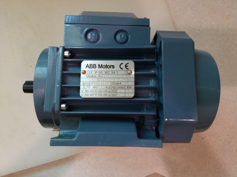ABB Electric Motor - m3aa 063b 2(240)3gaa061312 asc