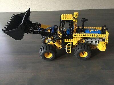 Vintage LEGO Technic Pneumatic Front End Loader Complete (8459) 1997