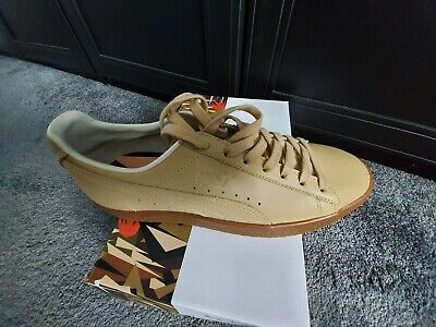 Puma natural special edition clyde 8 quality leather trainer limited edition