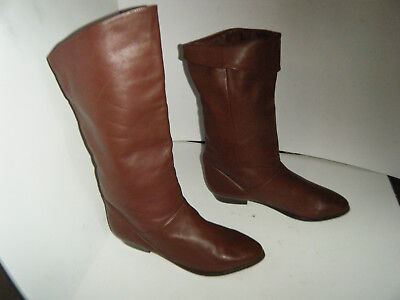 MADE IN ARGENTINA Fashion Leather Woman Boots Size 6 B