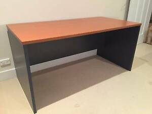 Home office desk cherry & ironstone laminate 150cm North Willoughby Willoughby Area Preview