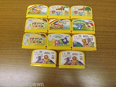 V.Smile Baby 11 Game Lot Mickey, Noah's Ark, Baby Einstein, Teletubbies & More  - More Baby Games