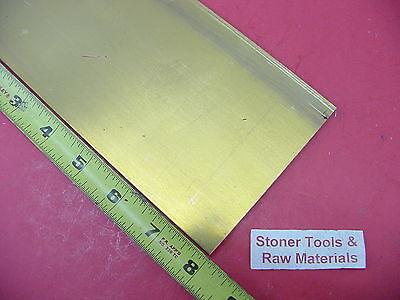 14 X 4 C360 Brass Flat Bar 8 Long Solid Mill Stock H02 .25x 4.00x 8