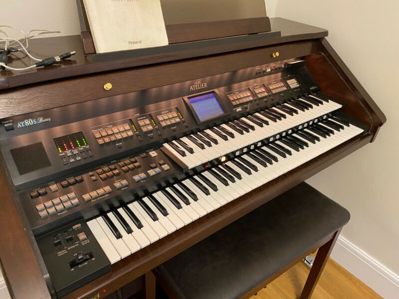 Roland AT80s Luxury with built in touch screen