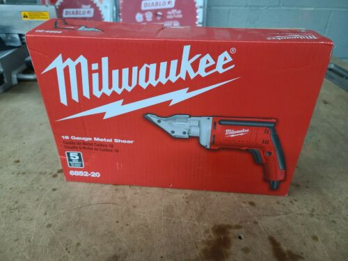 Milwaukee 18ga sheet metal shear corded heavy duty 6852-20 NEW