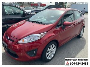 2013 Ford Fiesta SE; Local BC vehicle! LOW KMS!