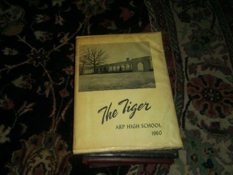 1960 ARP HIGH SCHOOL YEARBOOK TEXAS