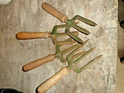 SMALL GARDEN FORKS  4 OF