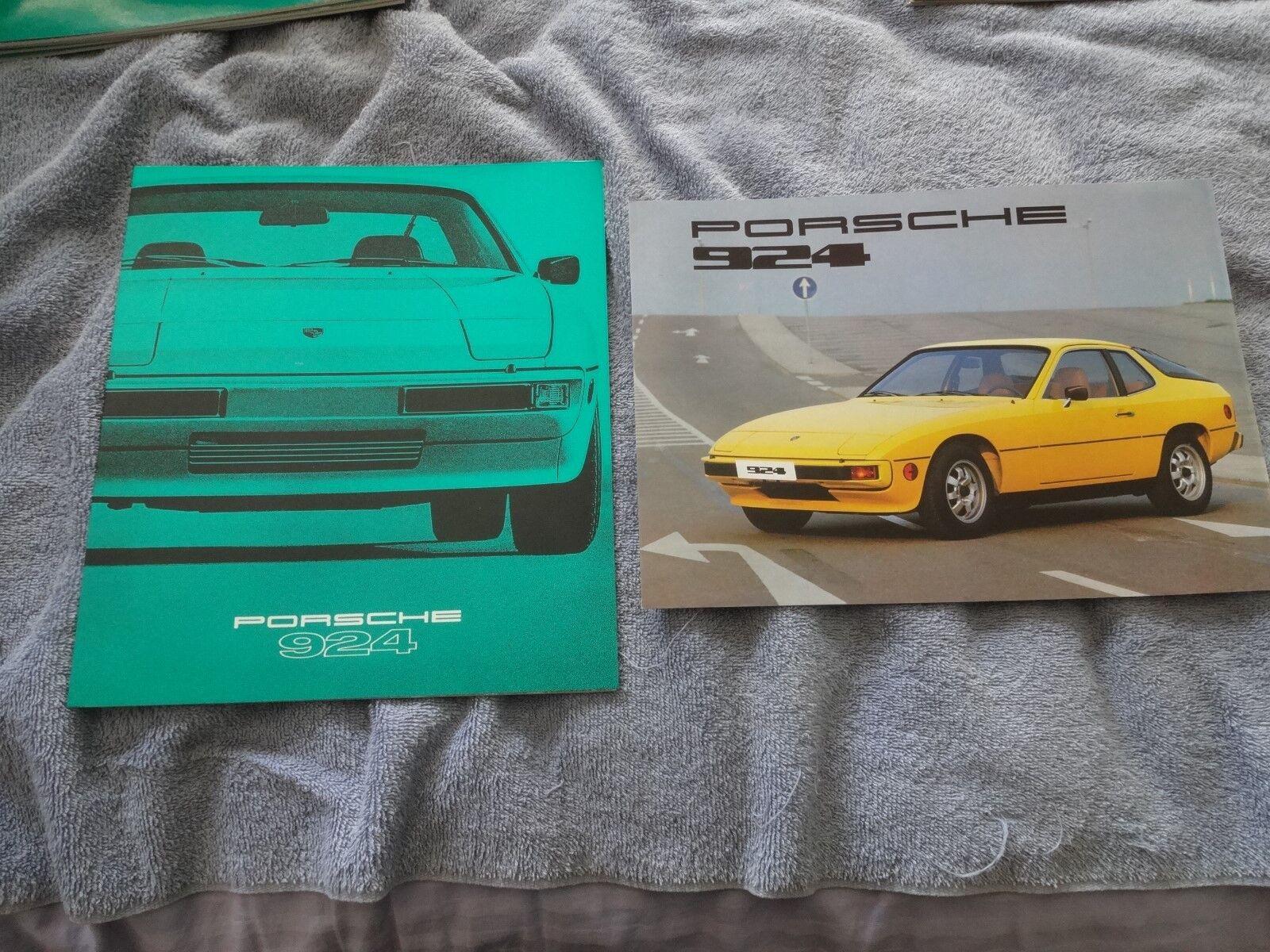 1978 Porsche 924 Prestige sales brochure & specification brochure great conditio