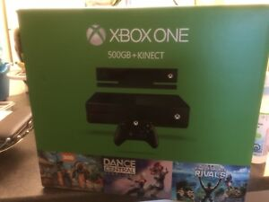 Xbox one bundle with Kinect & controller