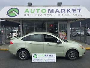 2010 Ford Focus SE Sedan Sync, Bluetooth! Warranty!