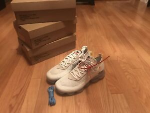 Nike Air Max Vapormax off white Sz 9