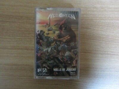 Helloween - Walls Of Jericho Korea Edition Orig Sealed Cassette Tape