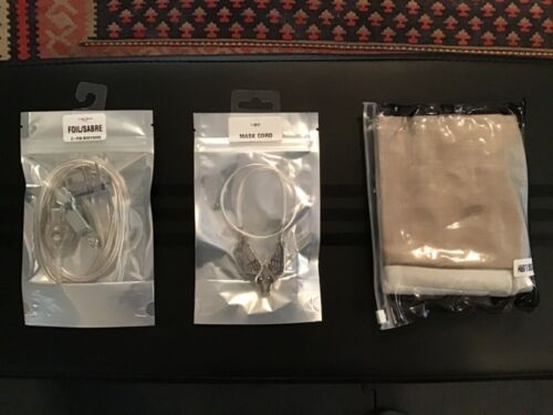 Leon Paul New in Package! Sabre glove, bodywire, mask cord 9.5 RH