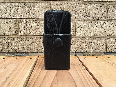 Motorola Tm Apx 7000 Leather Case Wleather Belt Flap By Caseguys