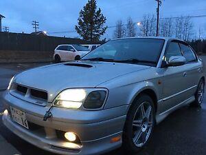 1999 SUBARU LEGACY B4 Twin Turbo Automatic $5000 AWD!!!