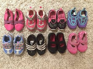 Lot of size 6 girls shoes (8 pairs)