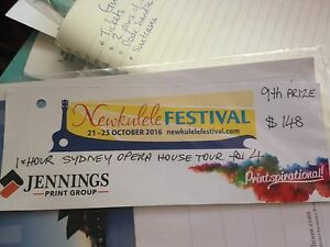 Opera House tour ticket for group of 4 Maryville Newcastle Area Preview