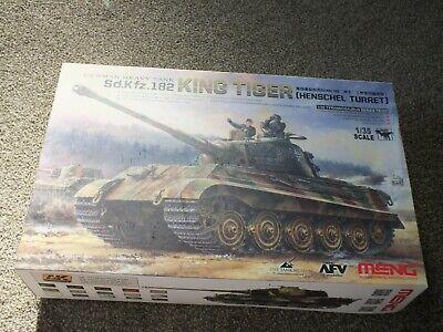 Meng Models 1:35 Sd.Kfz.182 King Tiger (Henschel Turret) Tank Model Kit