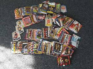 AFL FOOTY CARDS MIXED LOT  OVER 600 FROM  2001 -2018