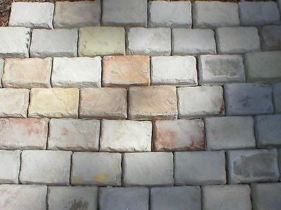 Cobblestone Concrete Mold - 18- 4x6X1.5 CONCRETE MOLDS MAKE COBBLESTONE, PATIO PAVERS, WALLS VENEER, FLOORS