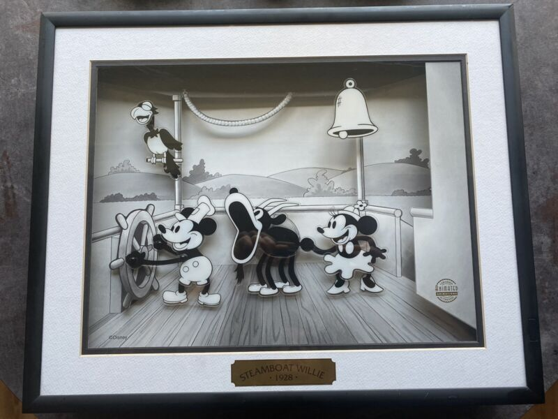 Animated Animations Steamboat Willie