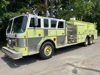 1989 HAHN FIRE ENGINE // PUMPER // FIRE TRUCK // 3000 GAL. TANK // 23K MILES!!!