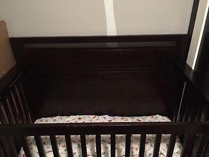 Generations Cozy Convertible Espresso Crib