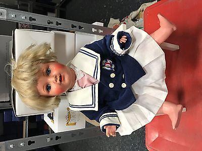 Alte Puppe 46 cm. Guter Zustand