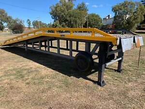 Troden R2910 Yard Ramp/Container Loading Ramp/Forklift Ramp. Inverell Inverell Area Preview