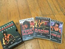 Rambo Trilogy DVD's set Rowville Knox Area Preview