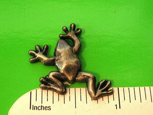 Climbing  FROG  -   hat pin , lapel pin , tie tac  , hatpin  GIFT BOXED 00804*