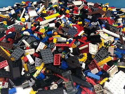 Genuine Lego Bundle 1kg-1000g Mixed Bricks Parts Pieces. Starter Set JobLot bulk