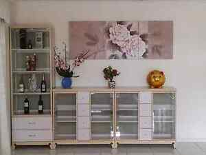 3pcs Display Cabinet Springvale South Greater Dandenong Preview