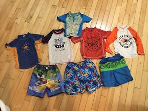 Size 2 boys swim wear