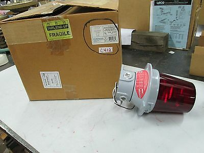 Edwards Ceiling Mount Rotating Halogen Beacon Cat 107dv2crinhr-n5 120 Vac Nib