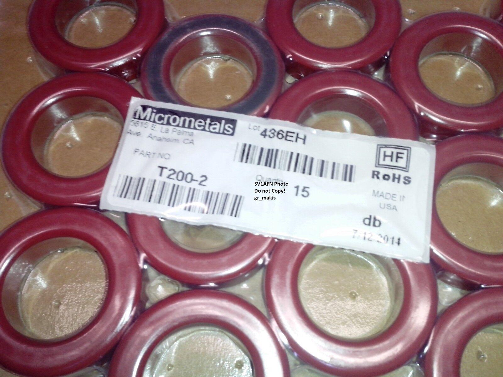 Micrometals T200 2 купить на eBay в Америке Рот