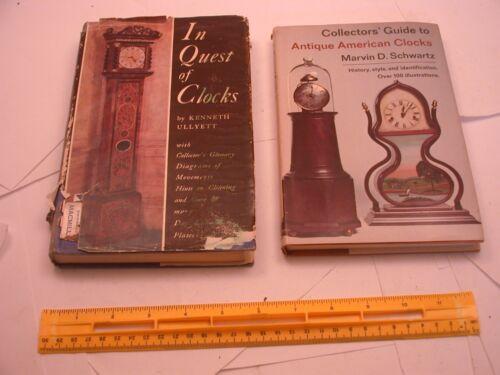 Book 183 – Lot of 2 clock books