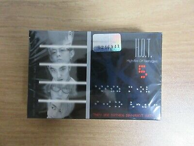 H.O.T - 5th Album Korea Orig Cassette Tape RARE HOT SEALED NEW