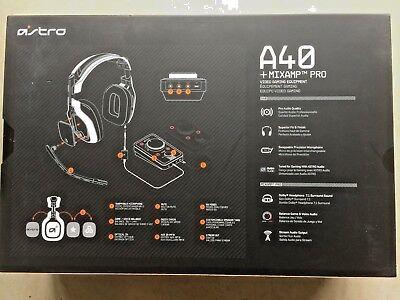 Astro headset, microphone, mixamp RRP£250 Gaming A40 Pro PS4 PS3 PC MAC segunda mano  Embacar hacia Spain