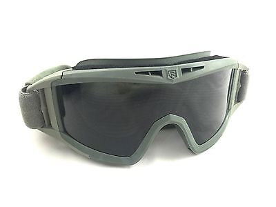 REVISION Desert Locust Ballistic Goggles, w Clear & Dark Lens, Foliage Green