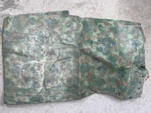 WW2 US ARMY Pacific Poncho USMC dated Raincoat Reversible