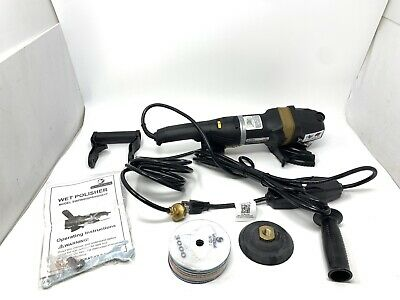 Stadea Swp101k Stone Wet Polisher Variable Speed Grinder Concrete Countertop New