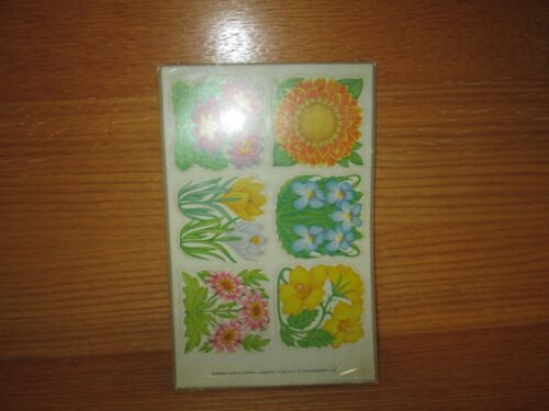 Sealed CURRENT, INC. 1979 Garden Fair Stickers 4 Sheets Code 4771